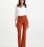 Lofty Manner Roestbruine/oranje Broek Angelina