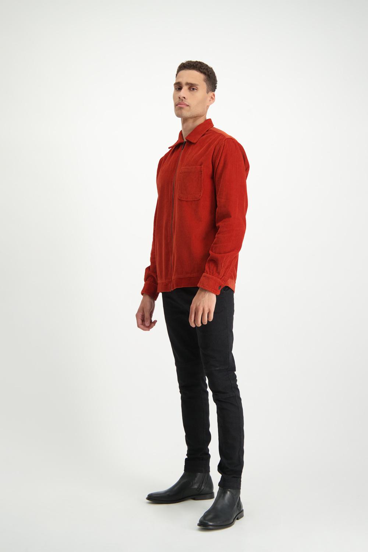 Lofty Manner Orange Jacket Juliano