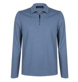 Lofty Manner Blauwe Sweater Mano