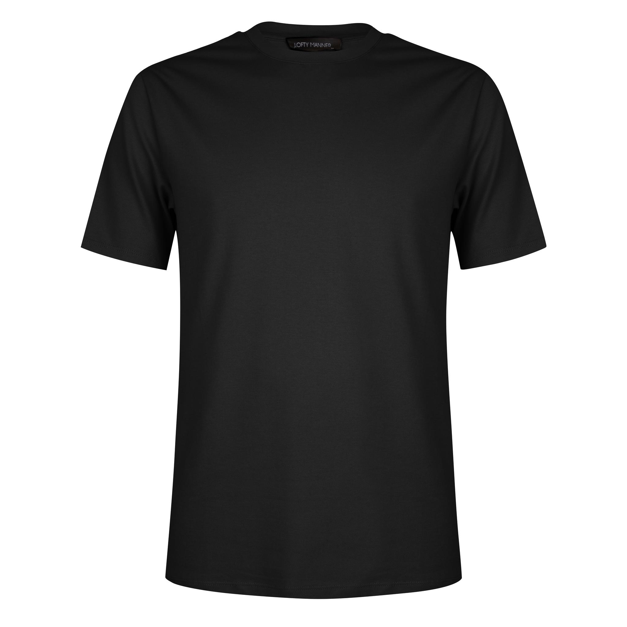Lofty Manner Zwart T-shirt Fernando