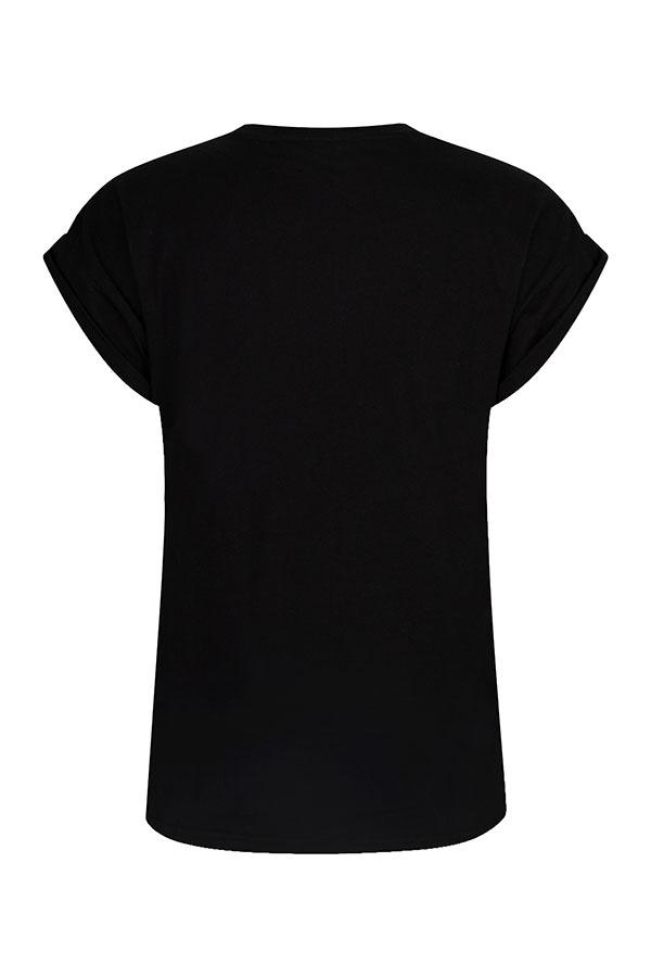 Lofty Manner Zwart t-shirt Alyda