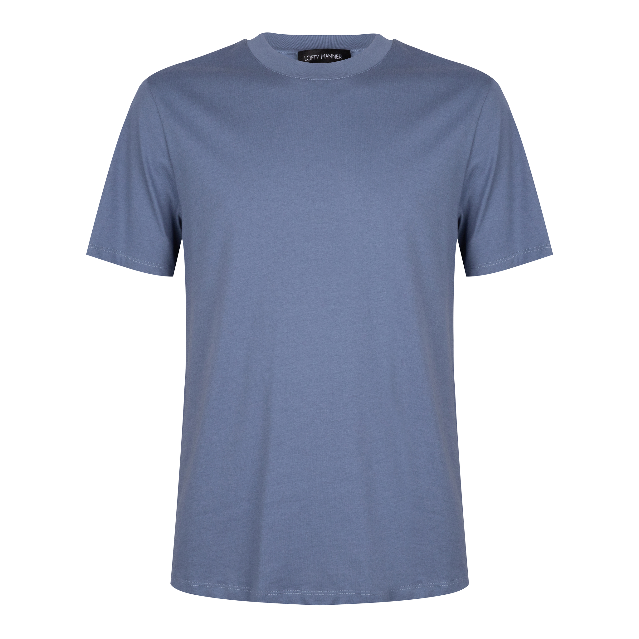 Lofty Manner Blauw T-shirt Eron