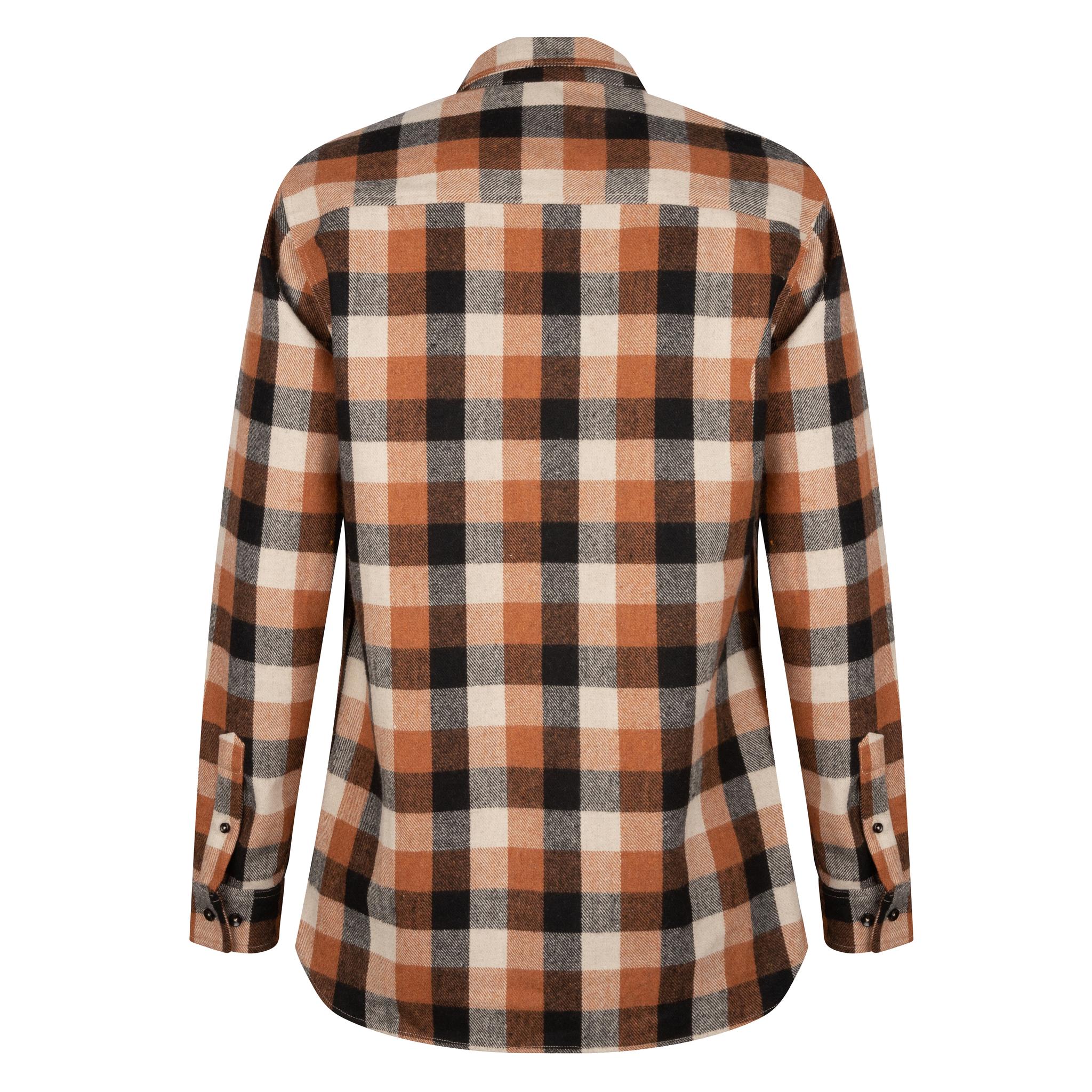 Lofty Manner Orange-black Blouse Maximo