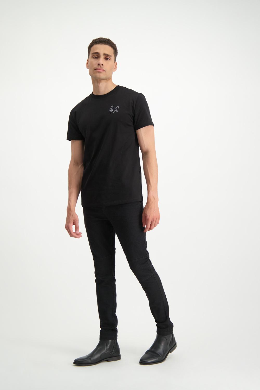 Lofty Manner Zwart Tshirt Geraldo