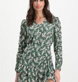 Lofty Manner Green Floral Print Top Assiya