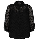 Lofty Manner Black Puff Sleeve Blouse Bowie