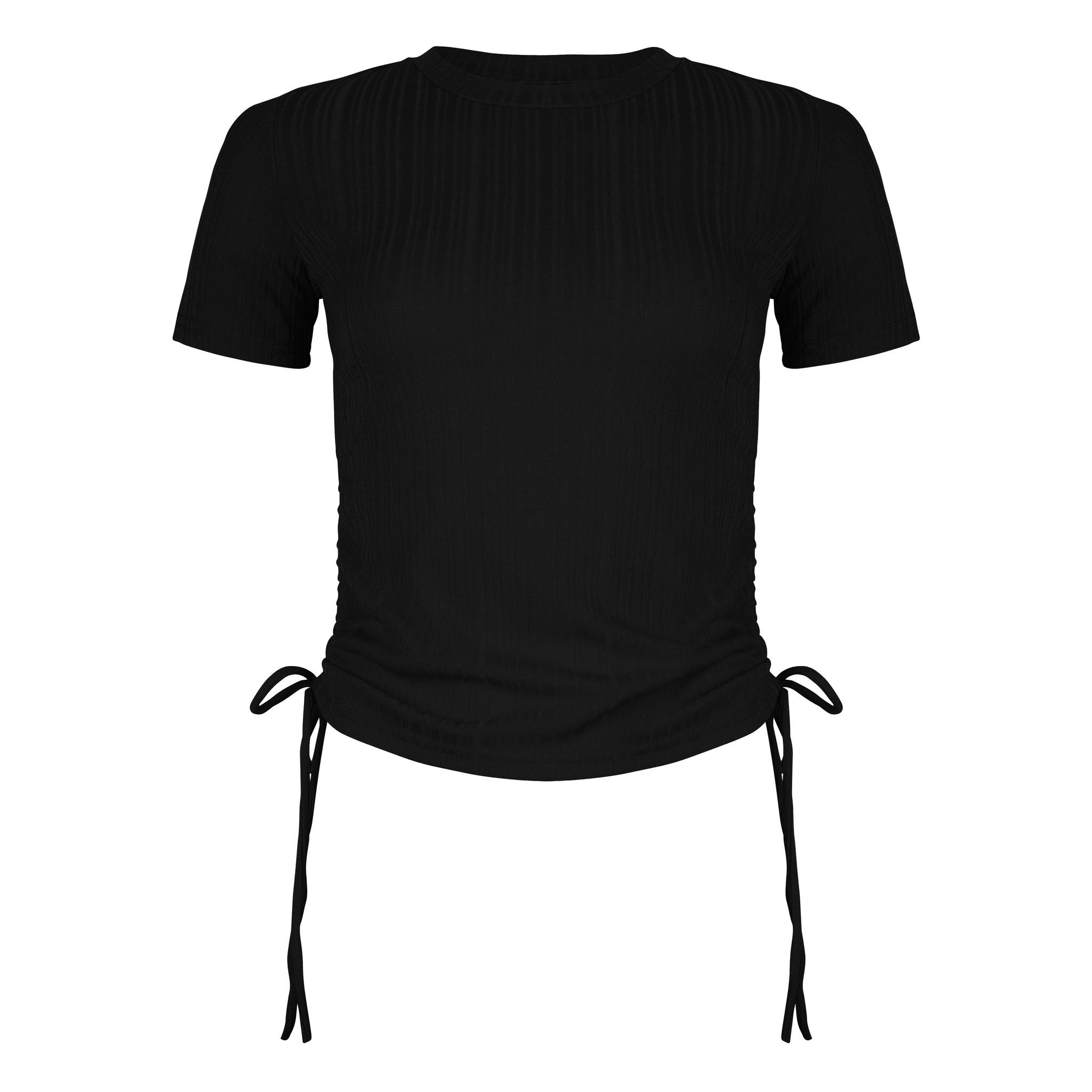 Lofty Manner Zwarte Top Danae