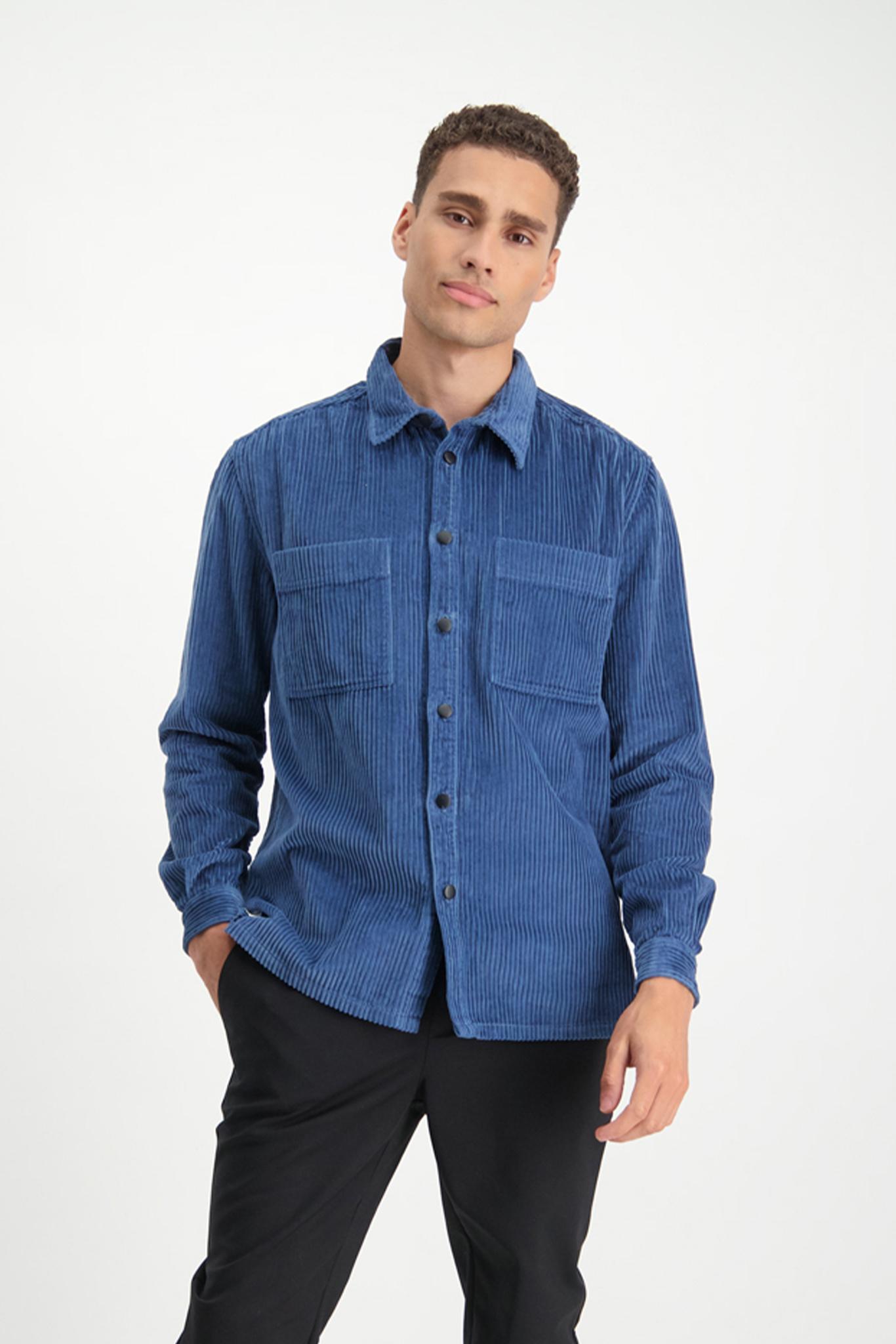 Lofty Manner Blauw Shirt Jair