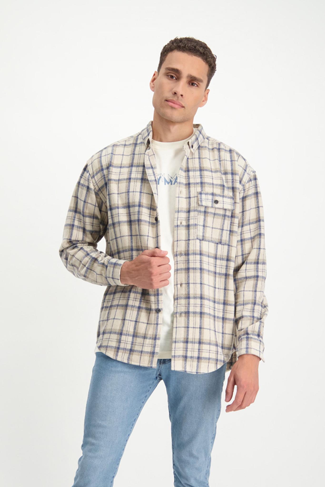 Lofty Manner Blue and white shirt Fransisco