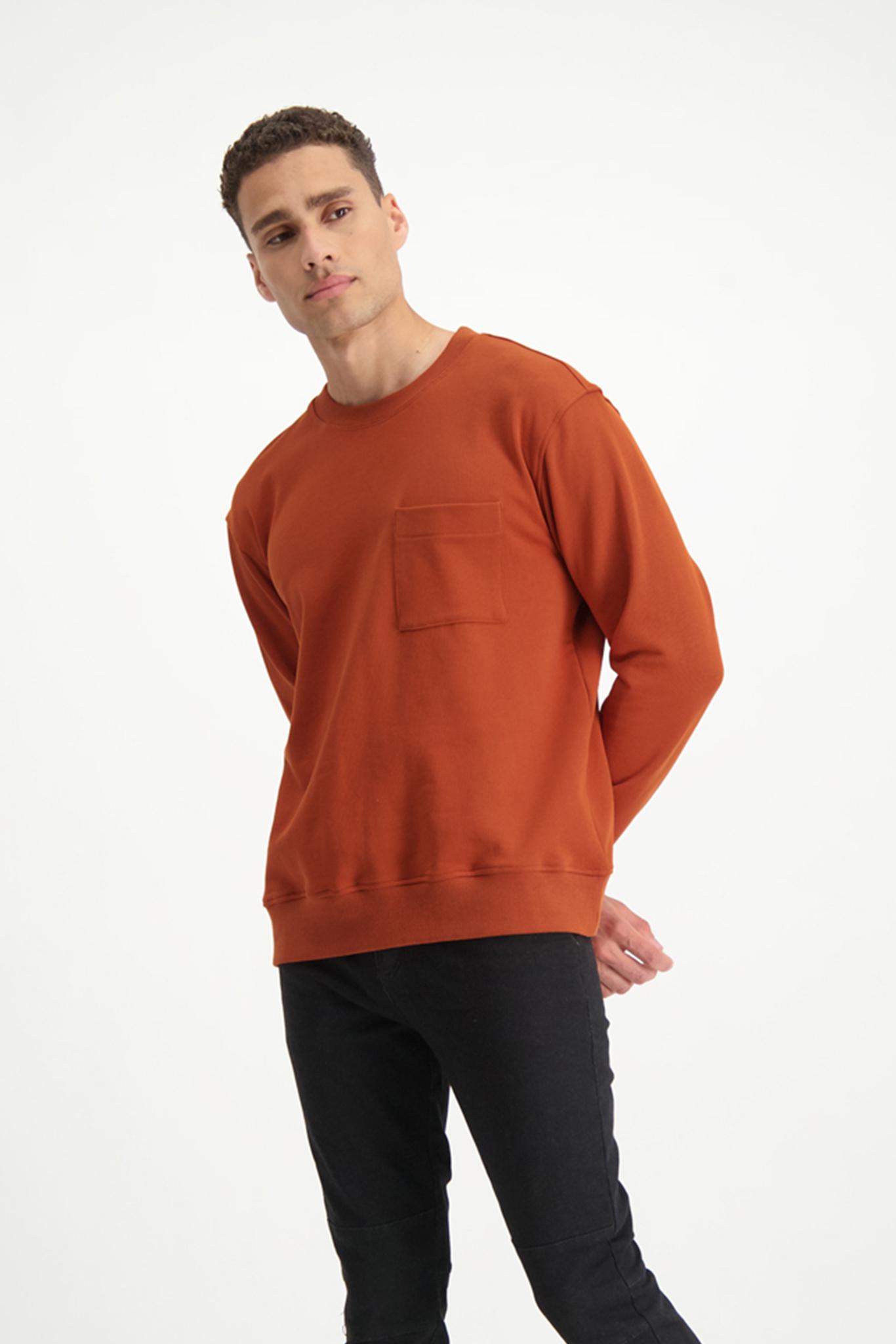 Lofty Manner Oranje Trui Dario