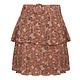 Pink Floral Print Skirt Jazz