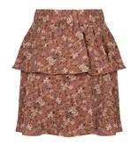 Lofty Manner Pink Floral Print Skirt Jazz