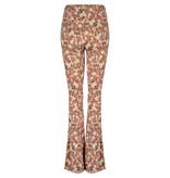Lofty Manner Flared Floral Print Pants Fyona