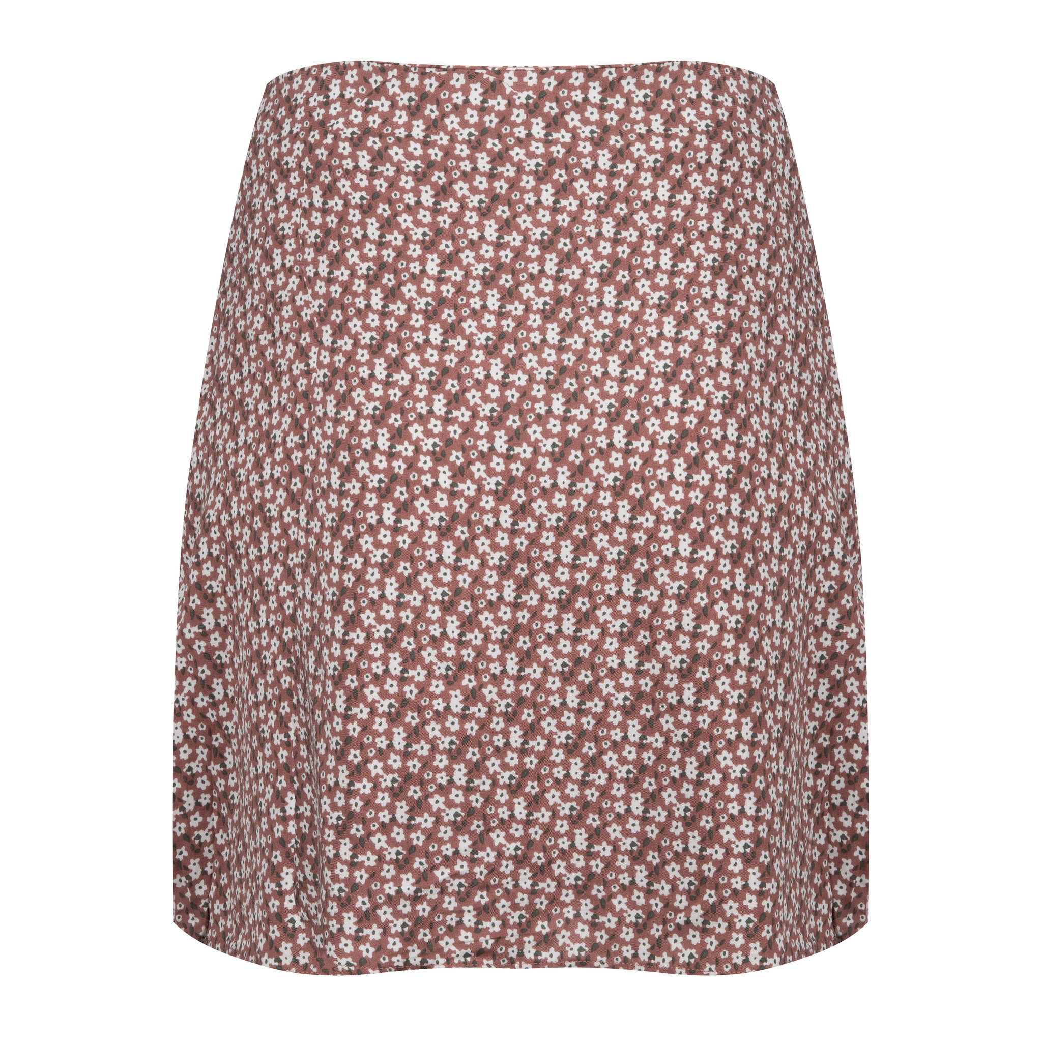 Lofty Manner Pink Flower Print Skirt Marly