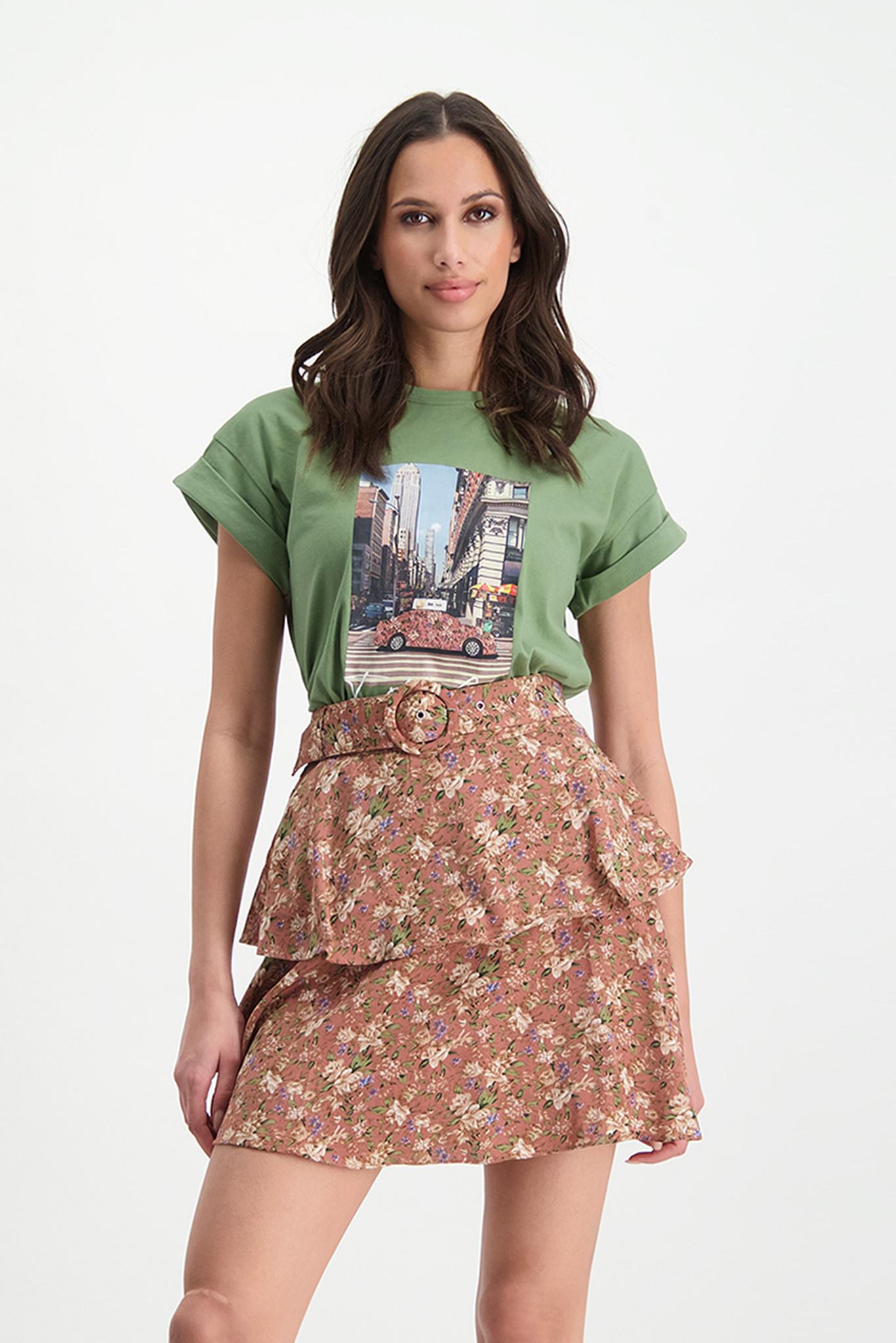 Lofty Manner Groen T-shirt Alyda