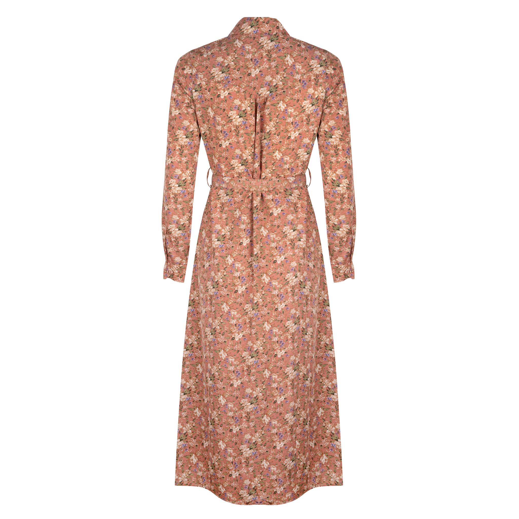 Lofty Manner Pink Floral Print Dress Daisy