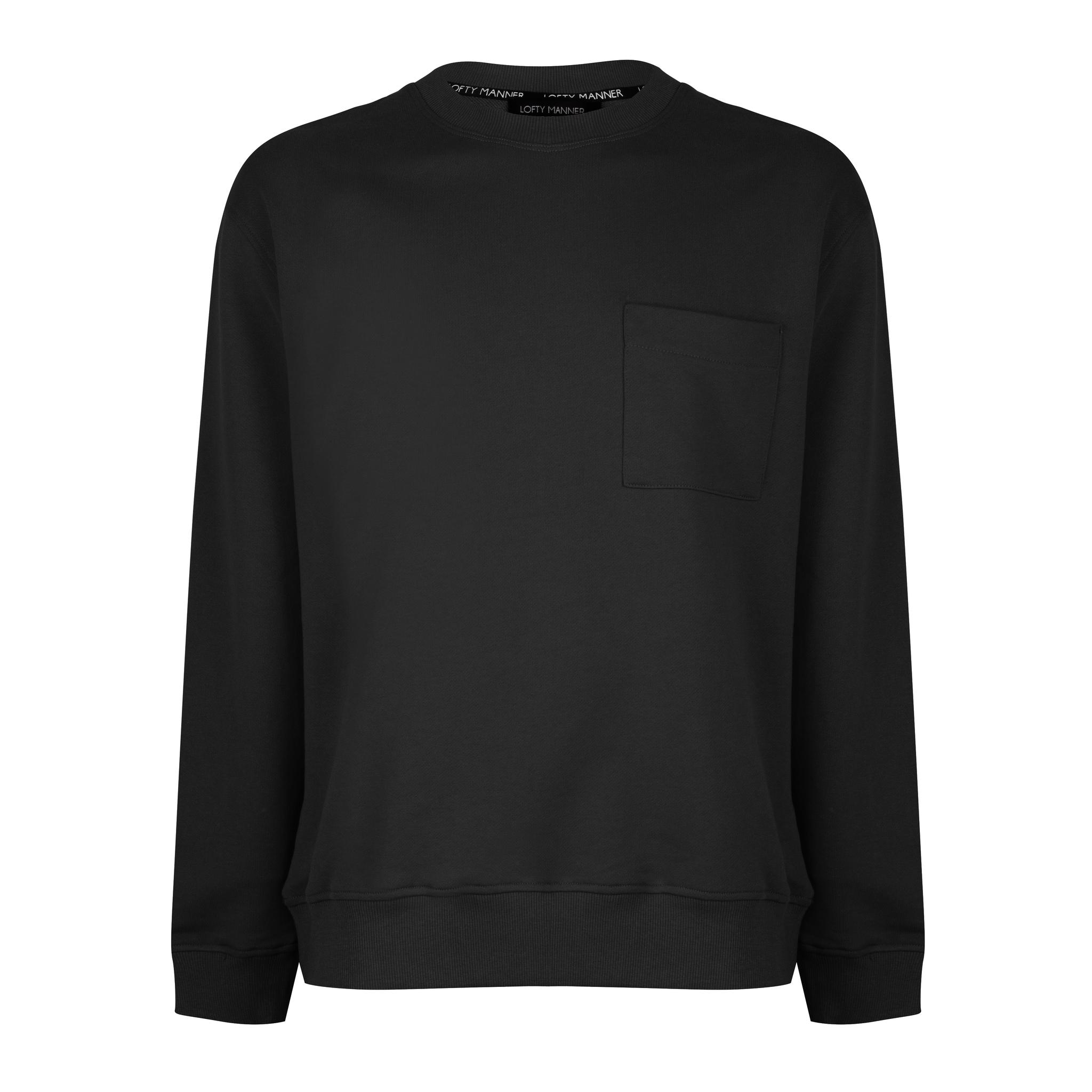 Lofty Manner Black Sweater Dario