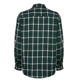 Lofty Manner Groen-wit Shirt Fransisco