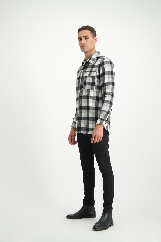 Lofty Manner Zwart-witte Blouse Maximo