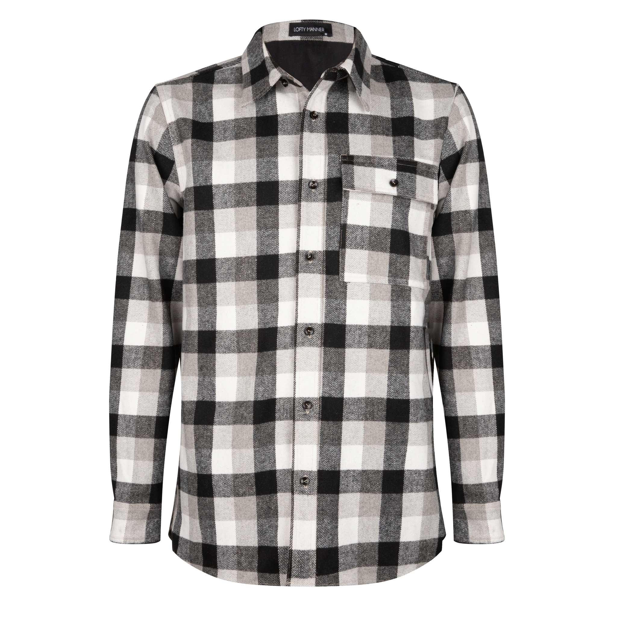 Lofty Manner Black and White Blouse Maximo
