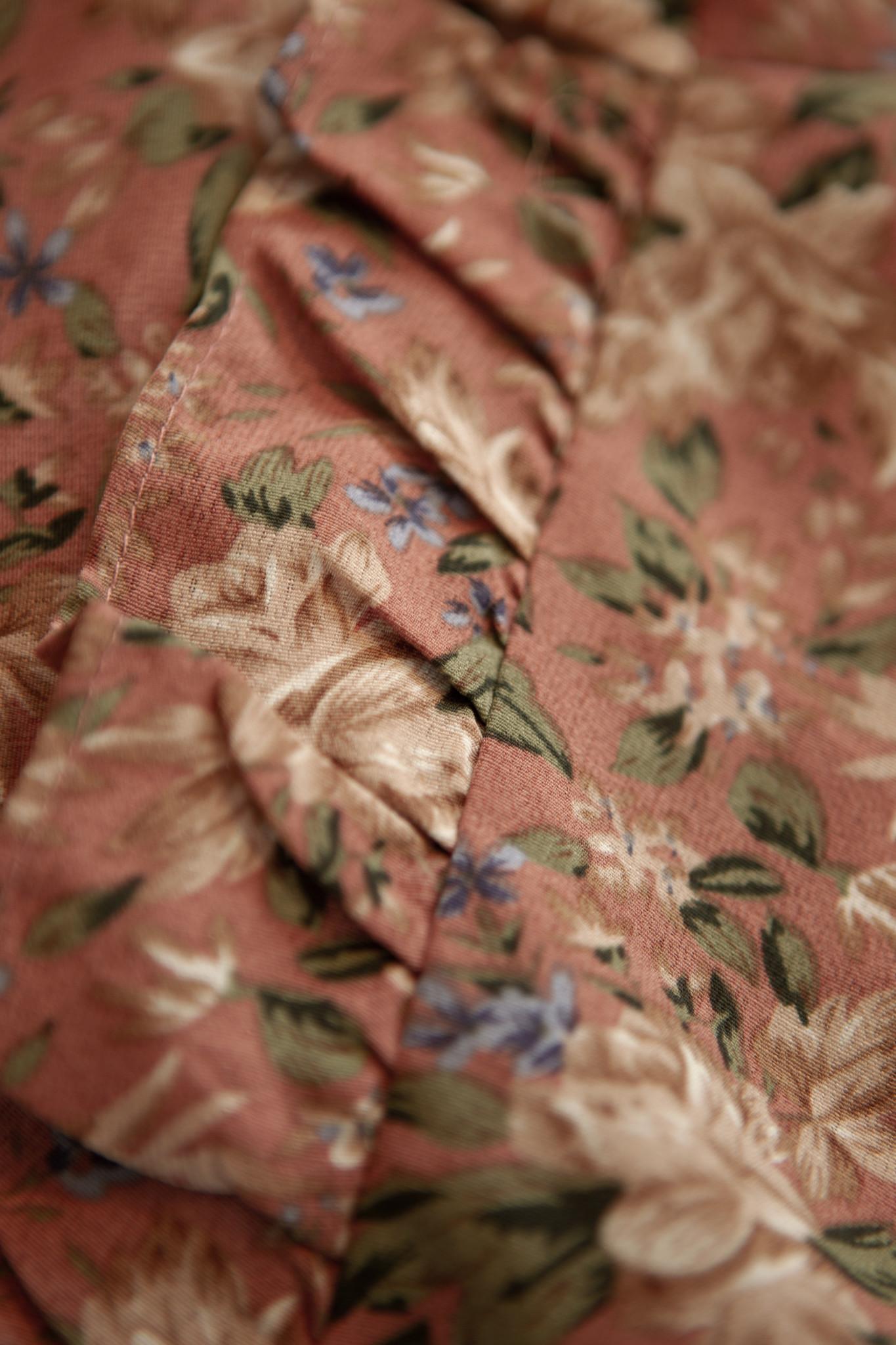Lofty Manner Roze Bloemenprint Blouse Roxy
