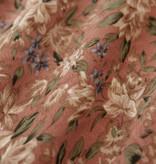 Lofty Manner Roze Bloemenprint Rokje Jazz