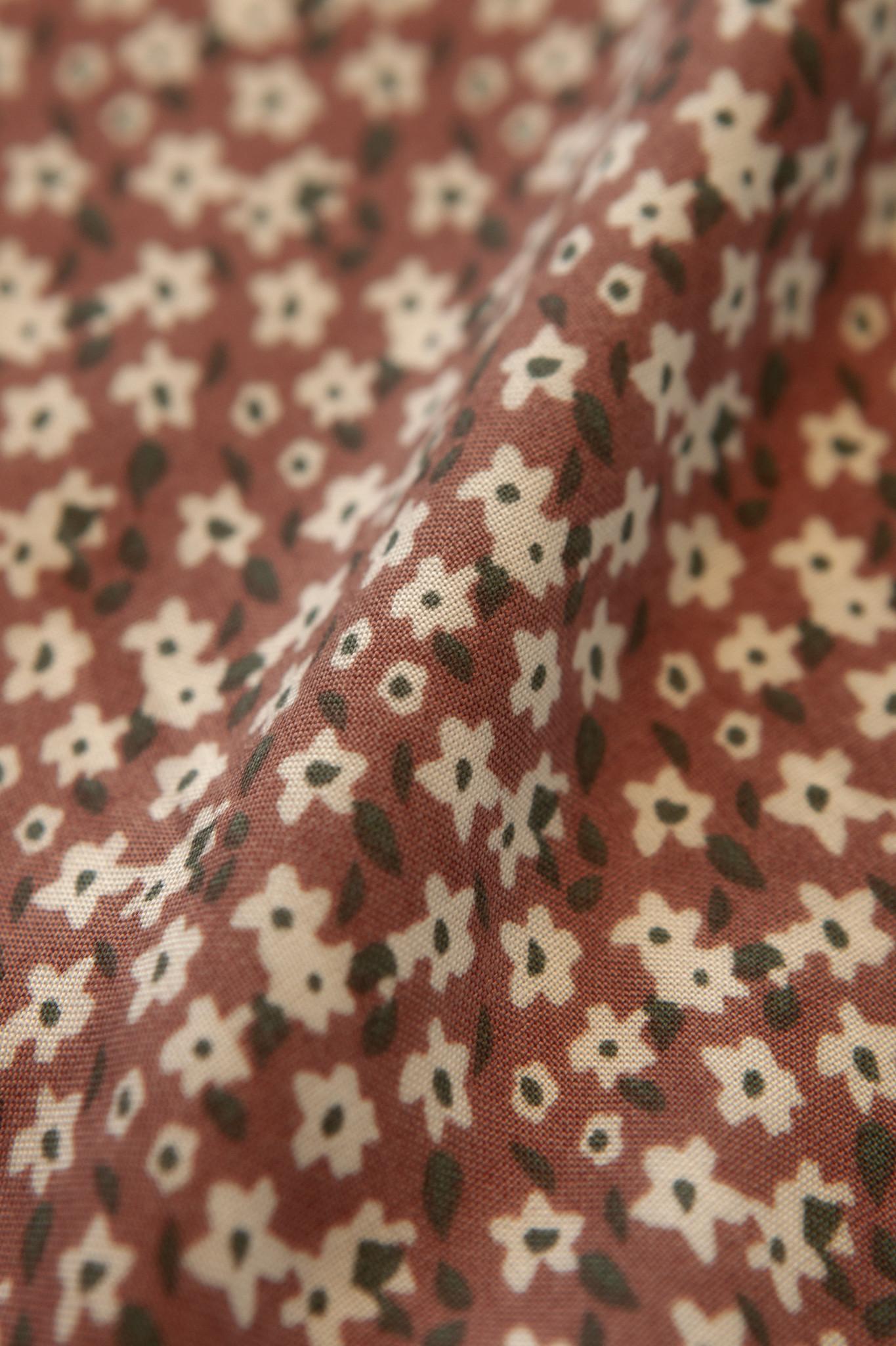 Lofty Manner Roze Bloemenprint Rokje Marly