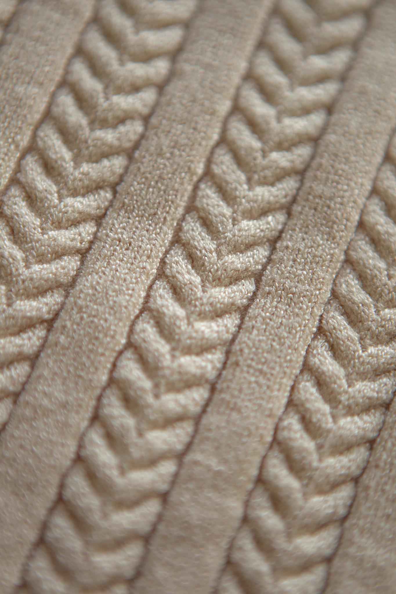 Lofty Manner Beige Knitted Camisole Jolene