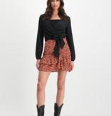 Lofty Manner Zwarte Top Lauren