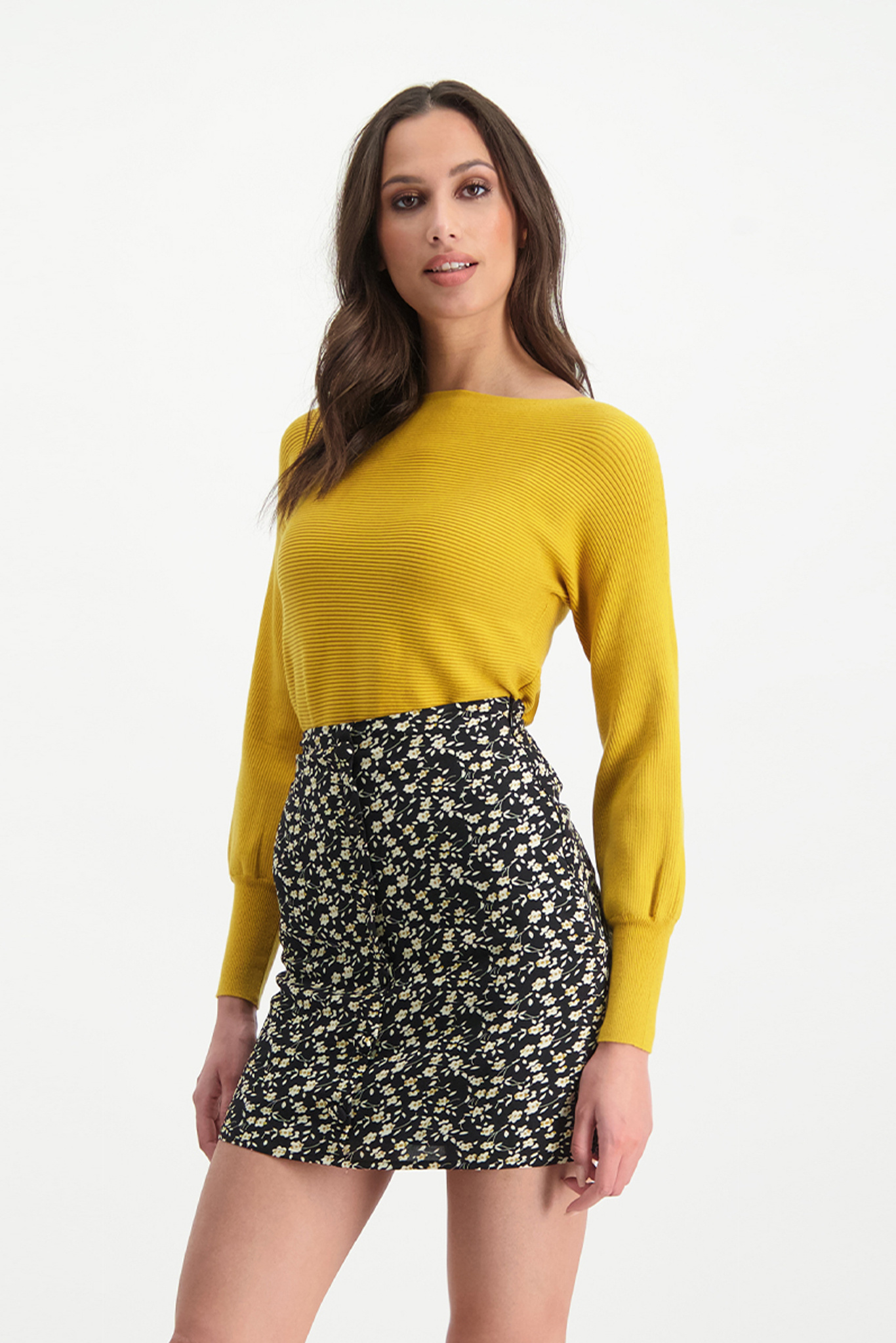 Lofty Manner Okergele Sweater Christina
