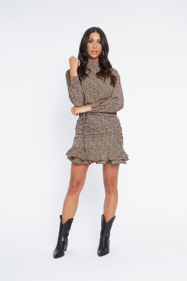 Lofty Manner Skirt Sylvie Green Pink
