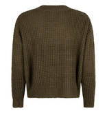 Lofty Manner Groene Sweater Shauna