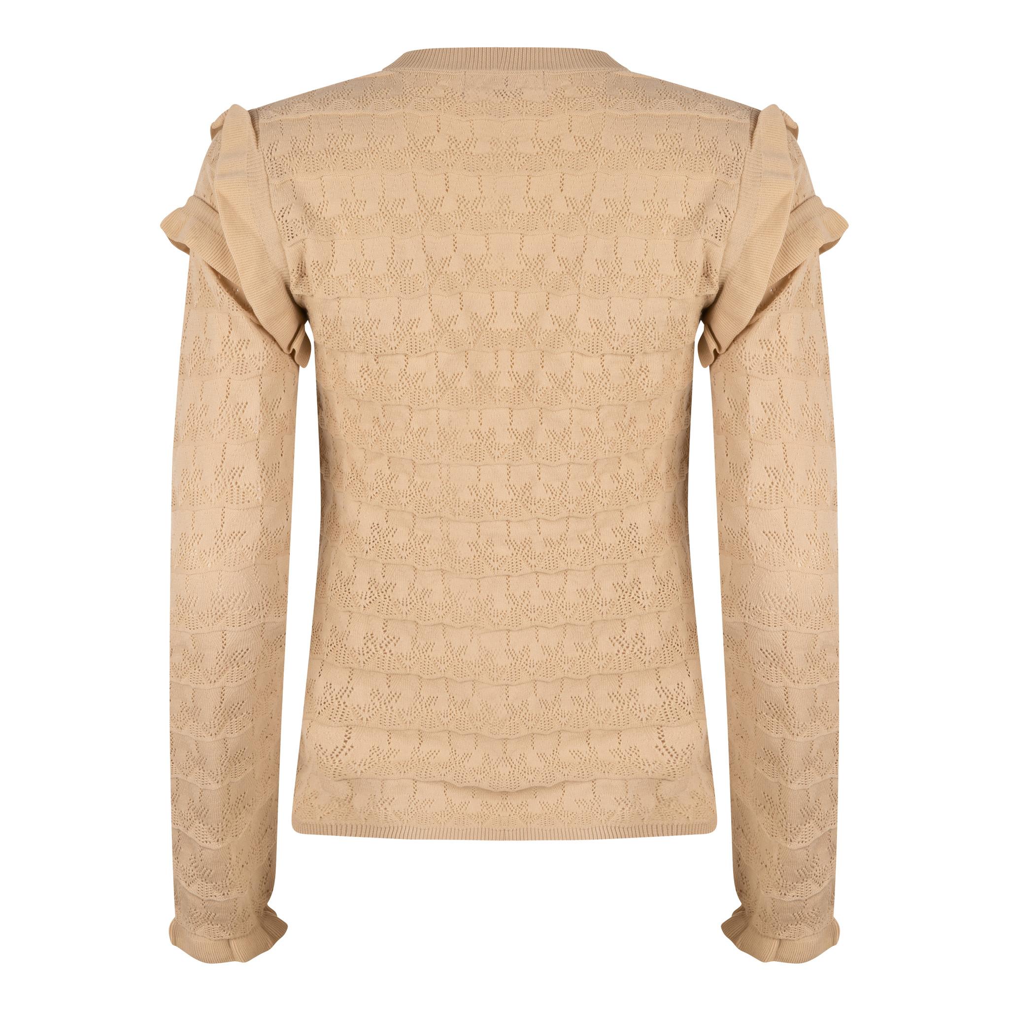 Lofty Manner Beige Sweater Regina