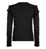 Lofty Manner Zwarte Sweater Regina