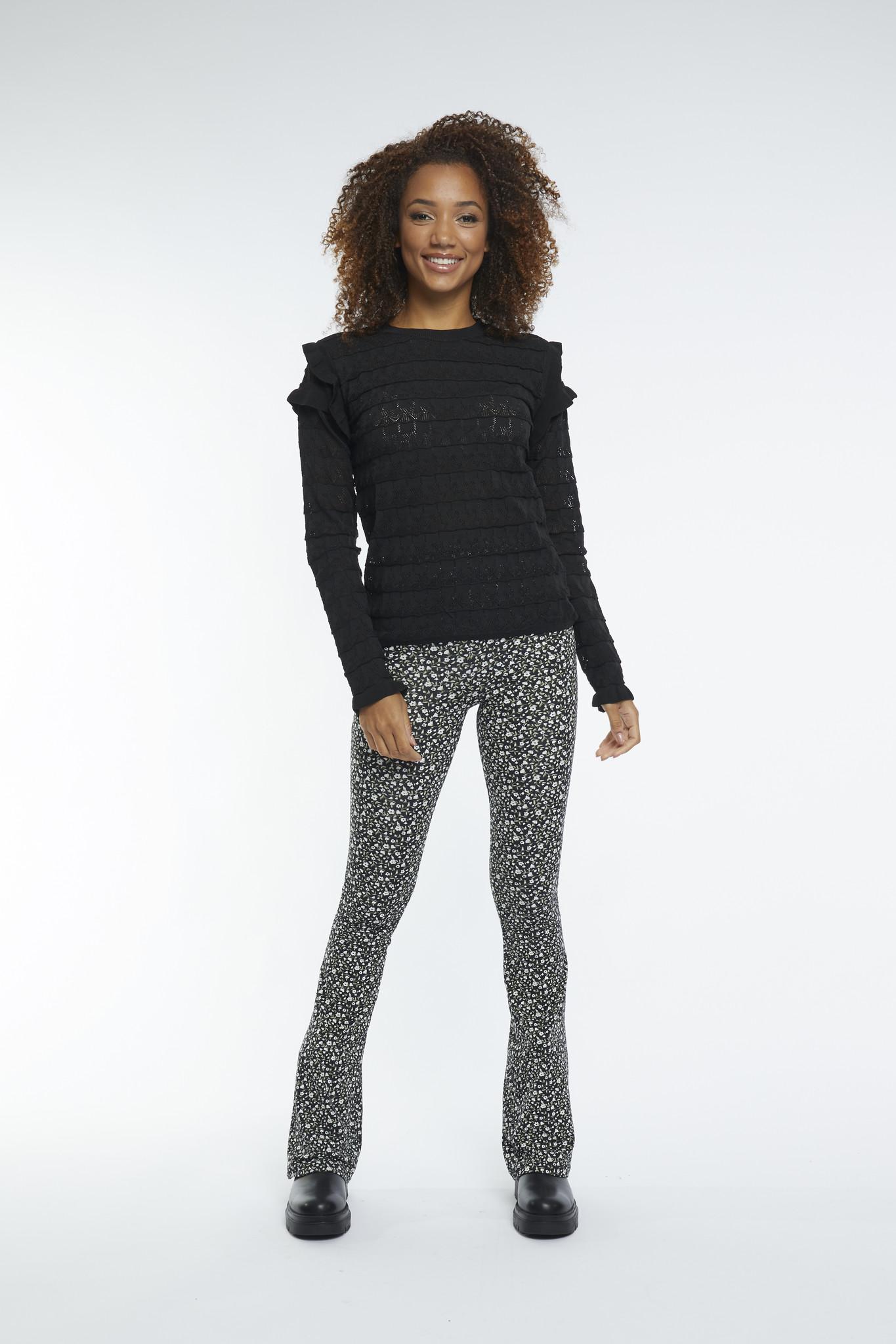 Lofty Manner Black Sweater Regina