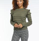 Lofty Manner Green Sweater Regina