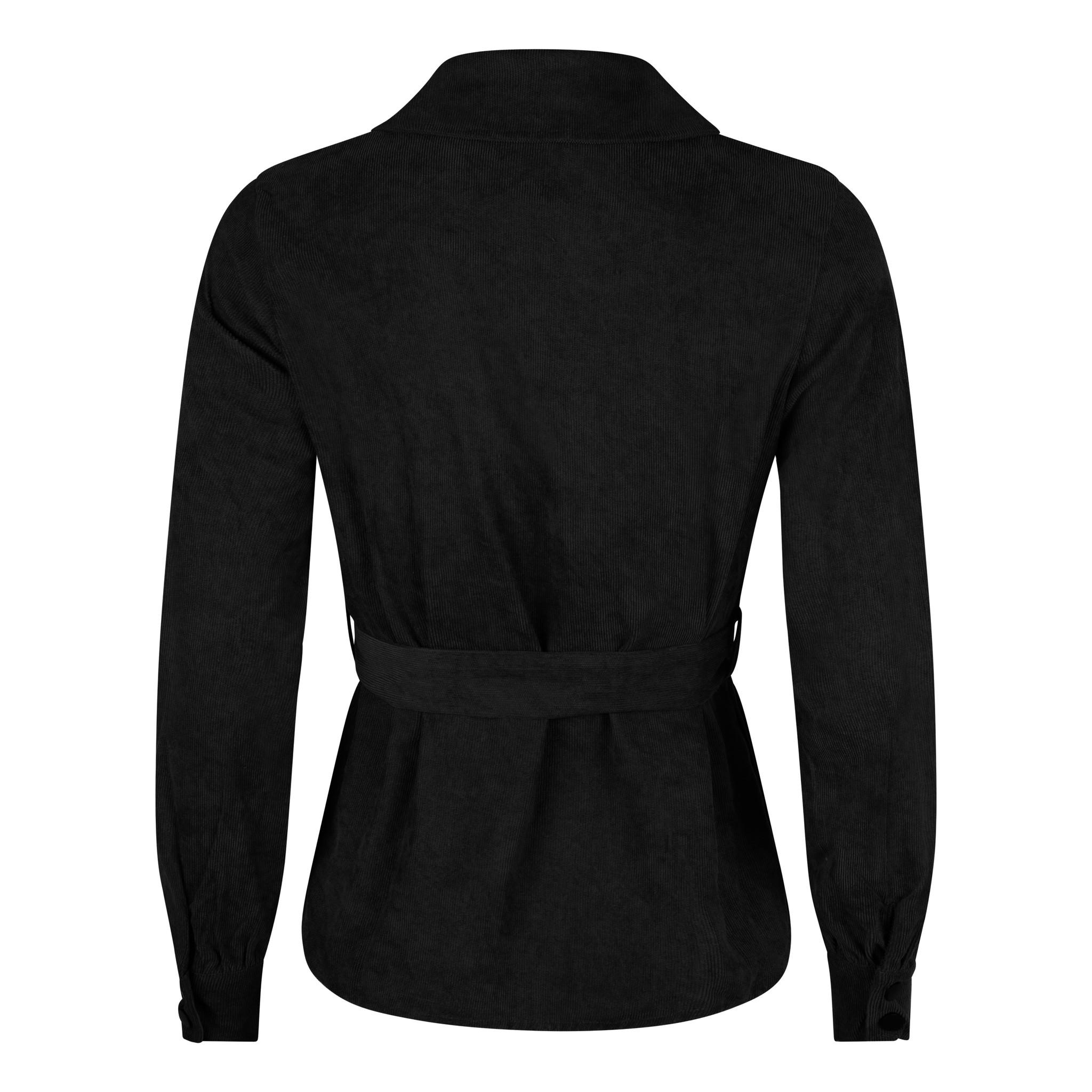 Lofty Manner Zwarte Top Julia