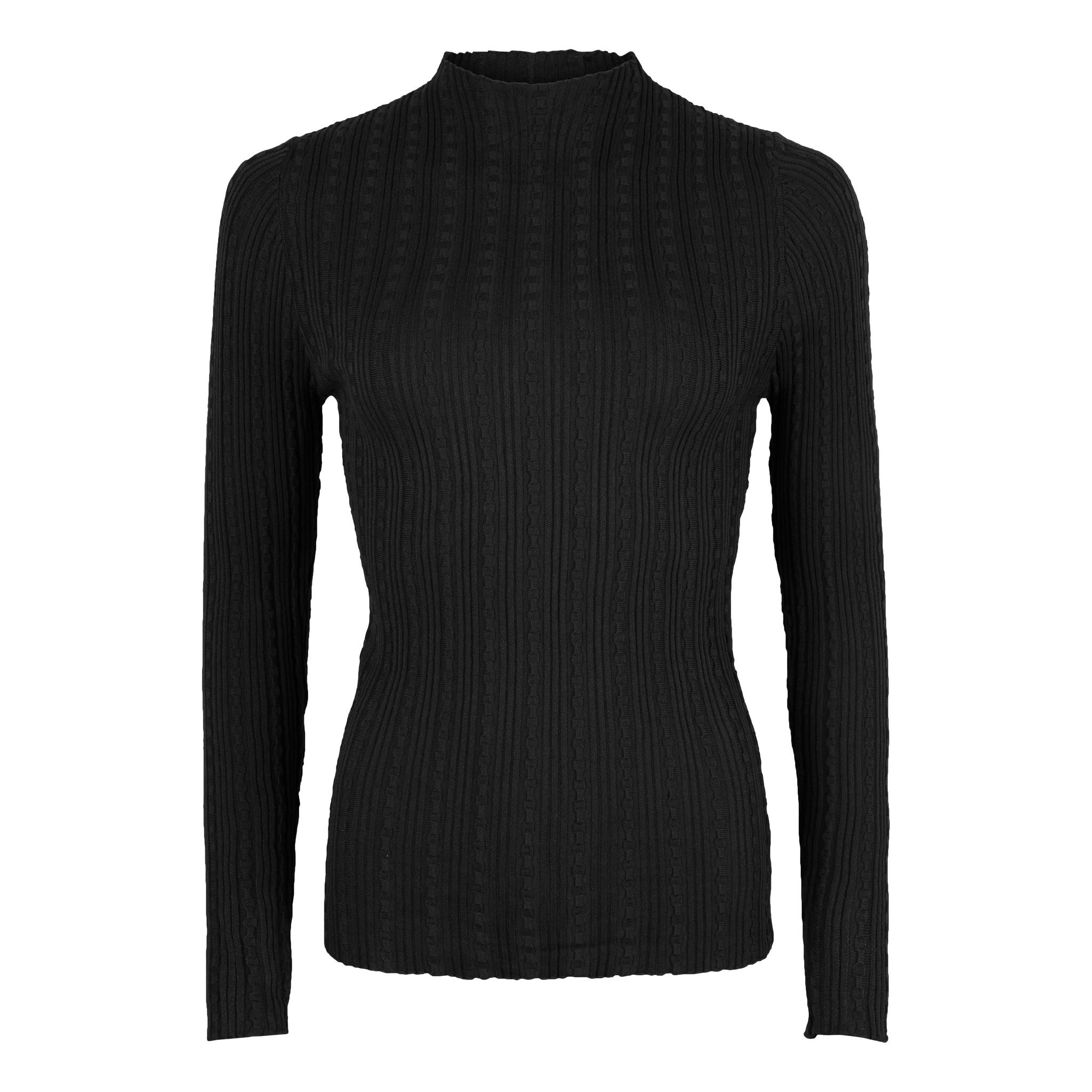 Lofty Manner Black Sweater Carmo