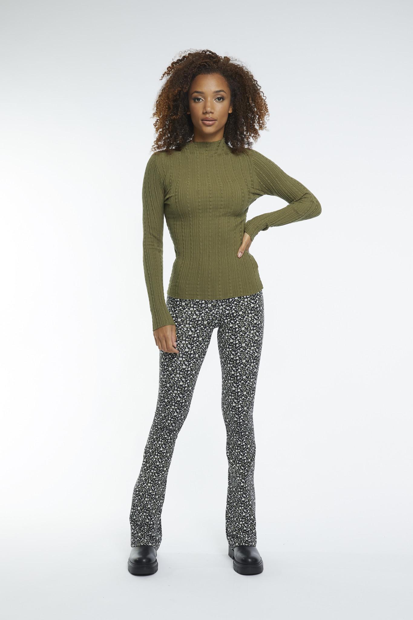 Lofty Manner Groene Sweater Carmo