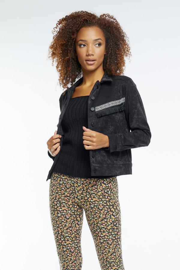 Lofty Manner Jacket Gini Black