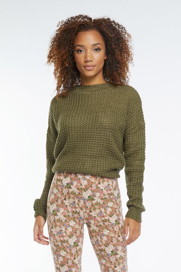 Lofty Manner Sweater Shauna Green