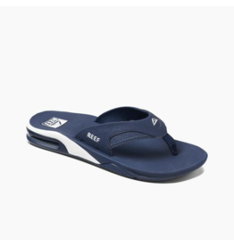 REEF Fanning Navy/White