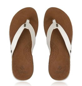 REEF Miss J-Bay Womens Tan/White