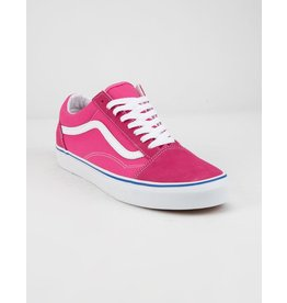 VANS Old Skool (Suede/Canvas) Carmine Rose