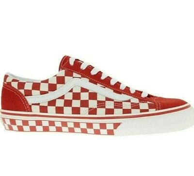 VANS VANS Style 36 (Checkerboard) Racing Red