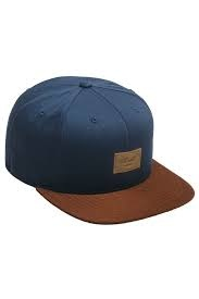 REELL REELL Suede Cap Navy