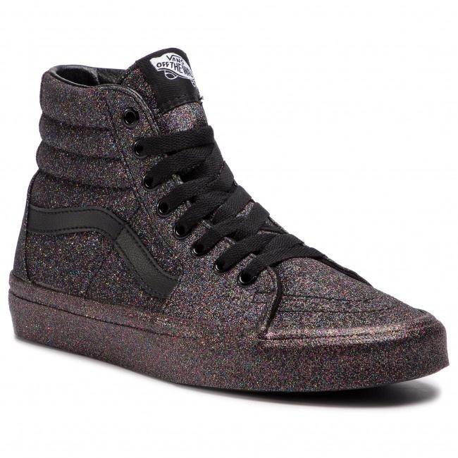 VANS VANS Sk8-Hi (Rainbow Glitter) Black