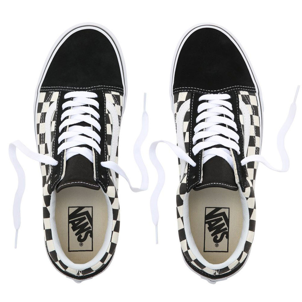 VANS VANS Old Skool (Primary Check) Black/White