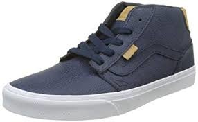VANS VANS Chapman Mid (H17 Leather) Dress Blues