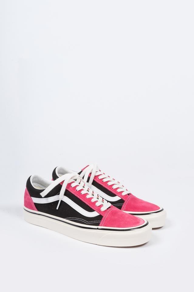 VANS VANS Old Skool 36 DX (Anaheim Factory) OG Pink OG Black
